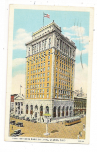 The agency's original office building in downtown Canton